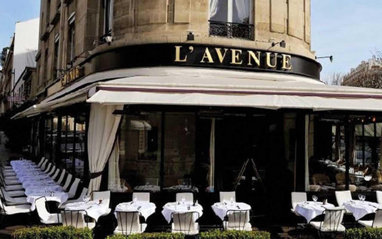 Ein wunderbares Nachtessen im Restaurant L'Avenue ist der Beginn für einen perfekten Abend in der Stadt der Liebe.